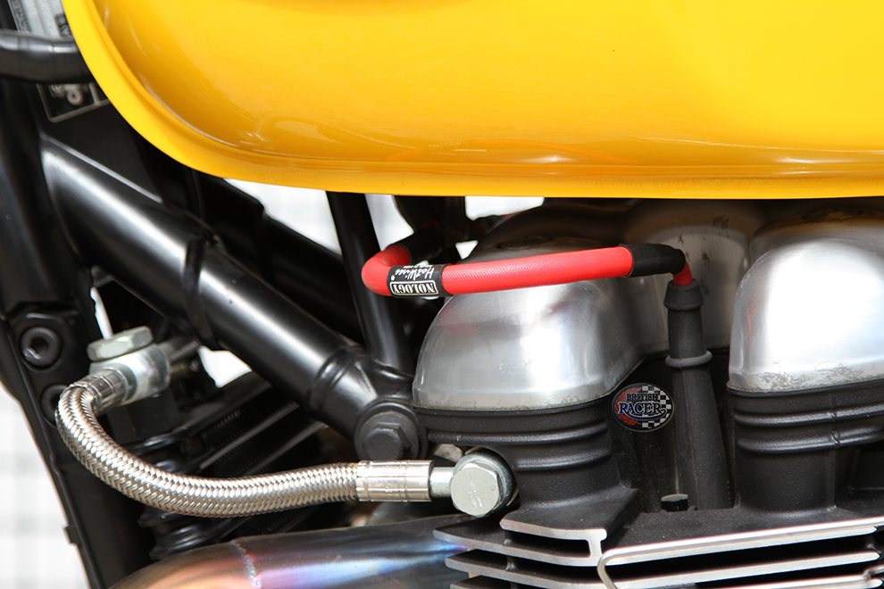 Nology Hot Wires for Bonneville Thruxton Scrambler