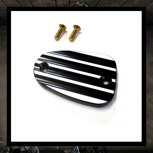 Joker master cylinder cover black finned