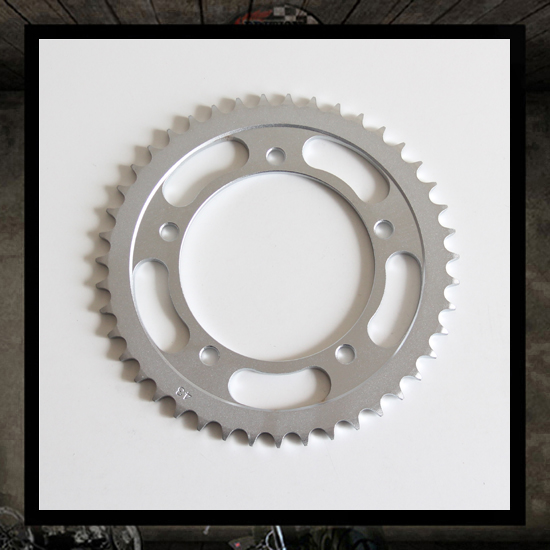 Hardened steel rear sprocket