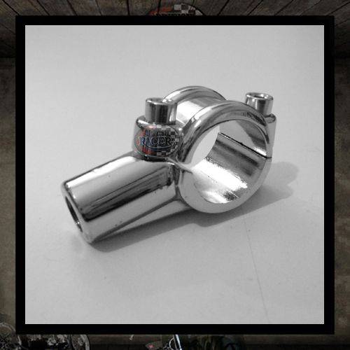 Old style chrome plated alloy mount bracket