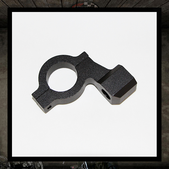 mount mirror bracket for 22 mm handlebar
