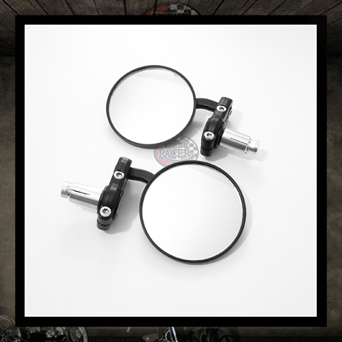 Aluminum Bar End Mirror