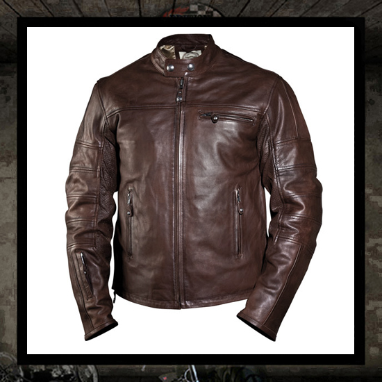 Ronin jacket - Tobacco