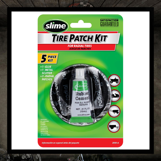 Tube patch kit for inner tube