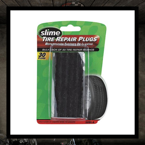 Repair plug patch kit (Tubeless)