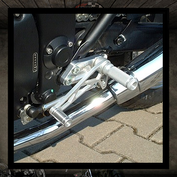 LSL rear sets kit Triumph Thurderbird Sport