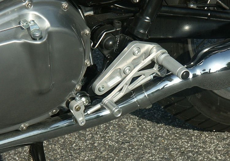 LSL rear sets kit Triumph Bonneville