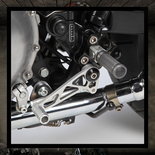 LSL comfort rear sets kit Triumph Thruxton