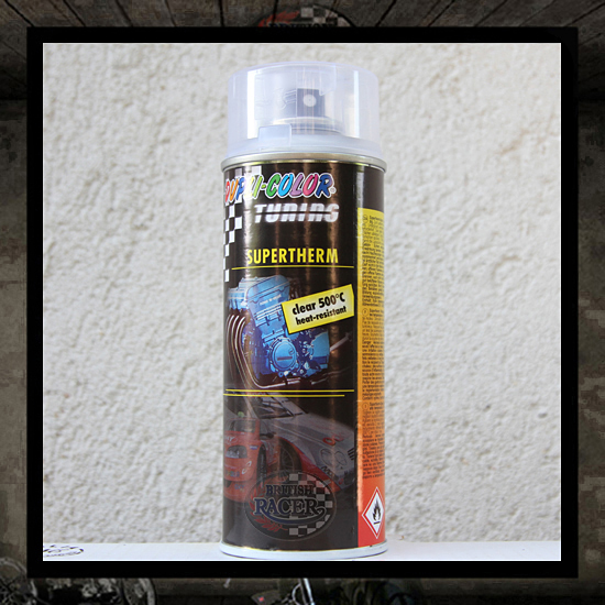 Hi-Heat thermal paint transparent