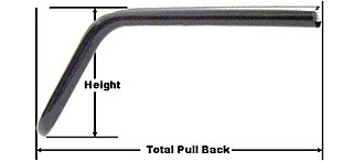 Sport-Bar Handlebars Black � 25,4 mm LSL