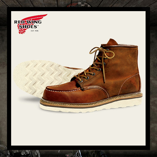 Red Wing 1907 Classic Moc Boots