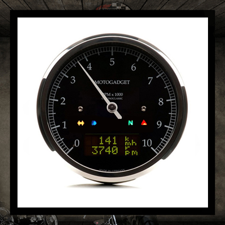 chronoclassic 10K Black Motogatget 85 mm