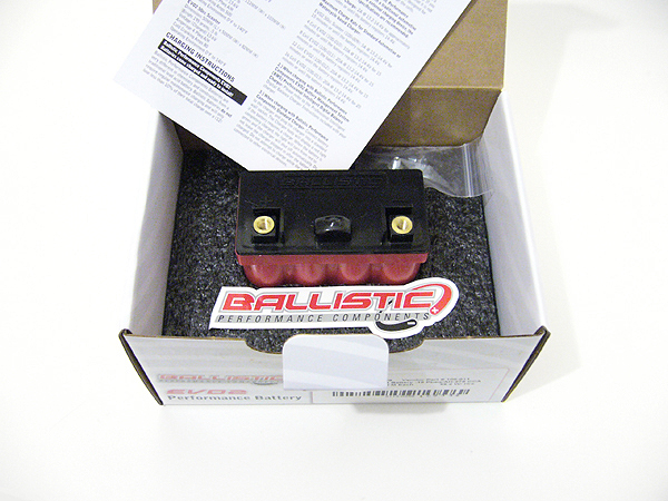 Ballistic Lithium battery EVO 2 - 8 Cell - 15Ah