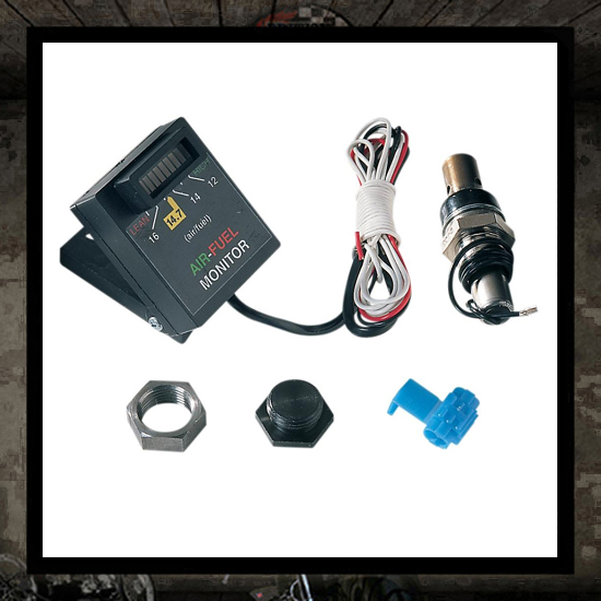 K&N Air/Fuel ratio monitor kit for Carb.-EFI model