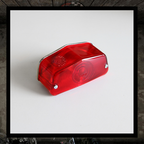 Complete replacement lens Lucas Taillight E-marked
