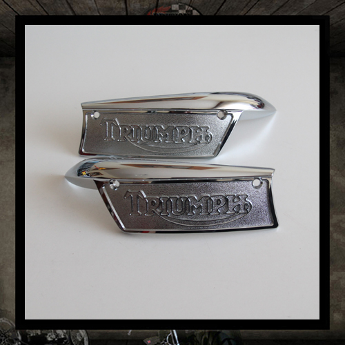 Tank Badges for Thriumph T100/T120/T140/T150/TR6/TR7
