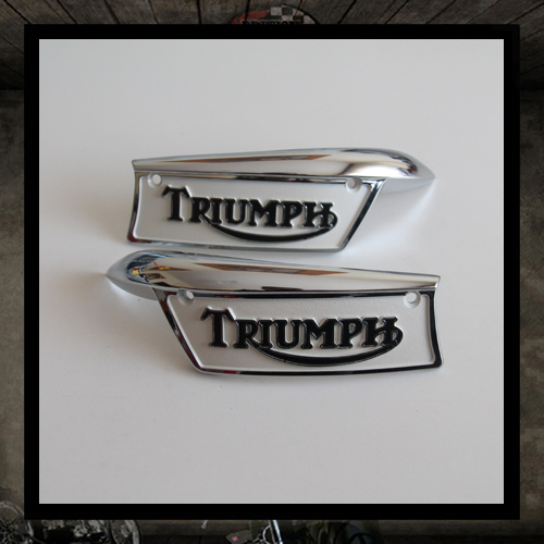 Tank Badges for Thriumph T120/140/TR6
