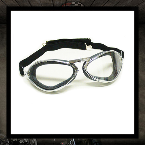 AVIATOR GOGGLES Chrome