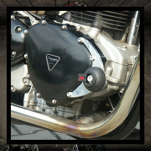 LSL SILVER engine cover protections DX + SX