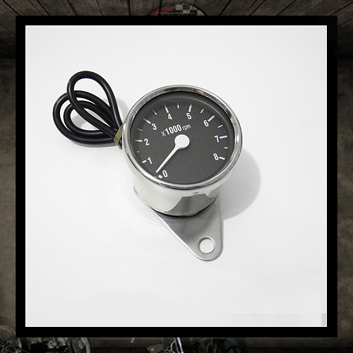 Mini tachometer black