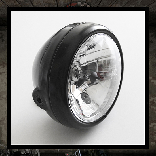 Six Days black headlamp E9 approved
