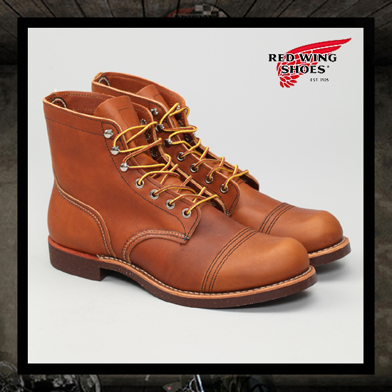 "Red Wing ""8112 Iron Ranger"" Boots - Brown"
