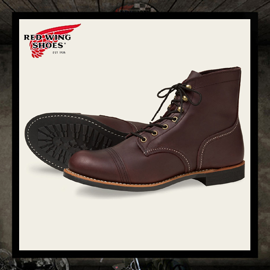 Red Wing 8119 Iron Ranger Boots - Cognac