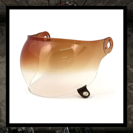 BELL Bullitt bubble shield Amber Gradient