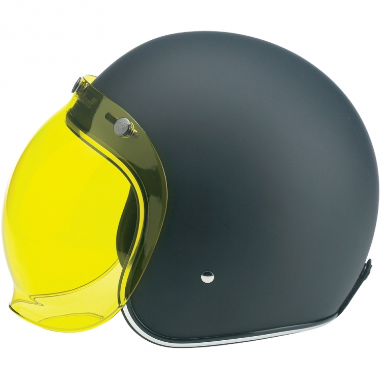 Biltwell Bubble Shield - Yellow