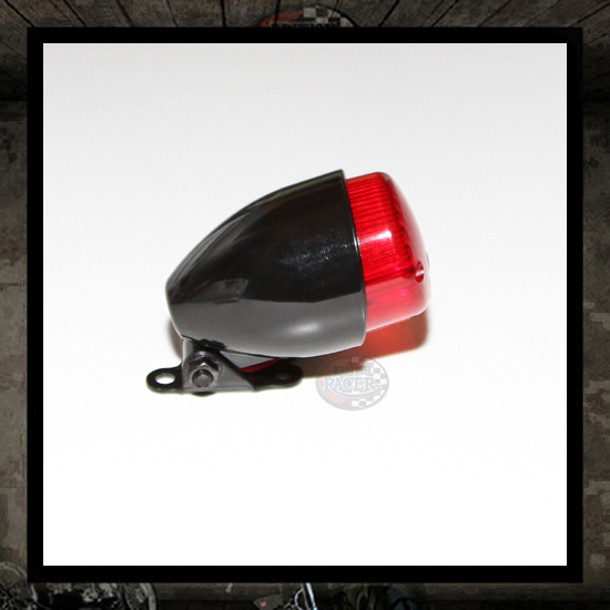 Texas Mini Taillight Black E-marked