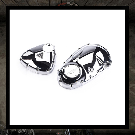engine covers kit, chrome - new Triumph 2016 >