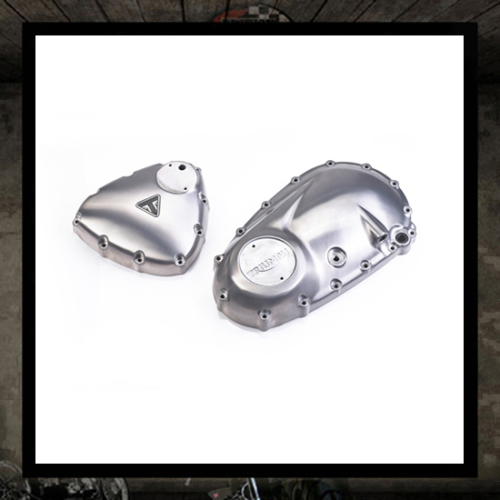 engine covers kit, brushed - new Triumph 2016 >