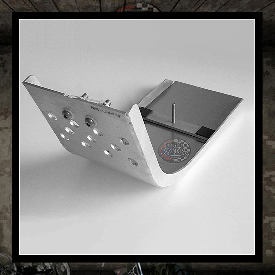 Aluminum Skid Plate MAS engineering