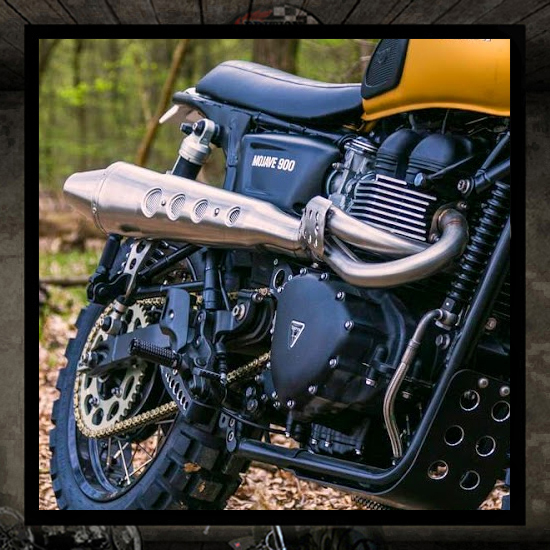 "Zard 2 into 1 ""High"" Bonneville-Thruxton-Scrambler EFI"