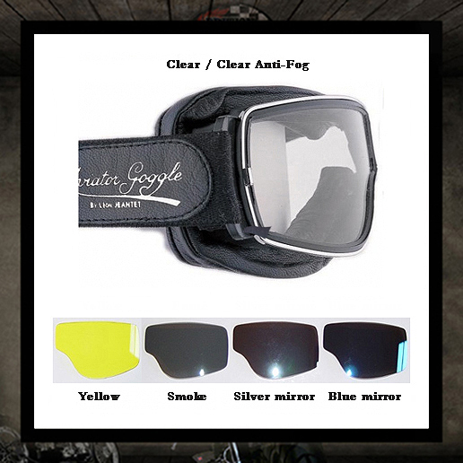 Aviator goggles PilotT2 Yellow lenses