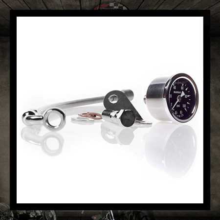 Smitter Mark Oil Pressure Gauge � Black