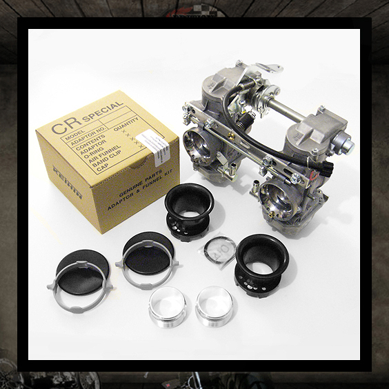 Triumph Kit KEIHIN Carburetors CR-35
