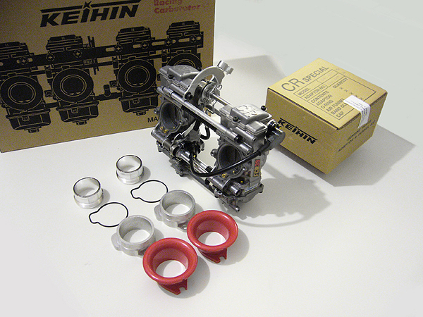 Triumph KEIHIN kit Carburetors FCR 39 mm