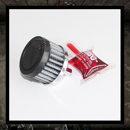 K&N breather oil filter