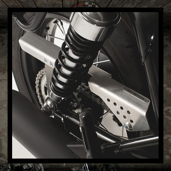 aluminum chain guard - new Triumph 2016 >