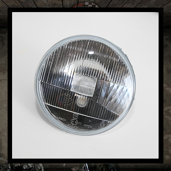 Lucas headlamp light unit E11 approved - 7""