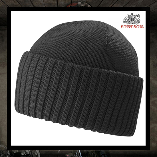 Stetson Northport Beanie ANTHRACITE