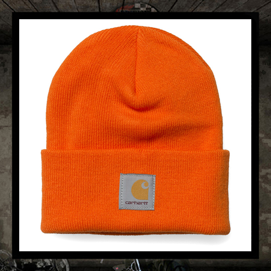 Carhartt Watch cap BRITE ORANGE - Canada