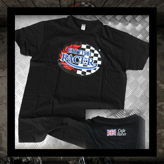 T-shirt British Racer