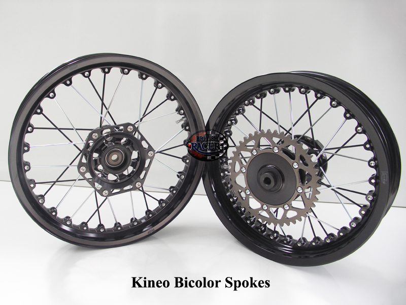 Kineo spoke wheels Tubeless BiColor (air cooled)
