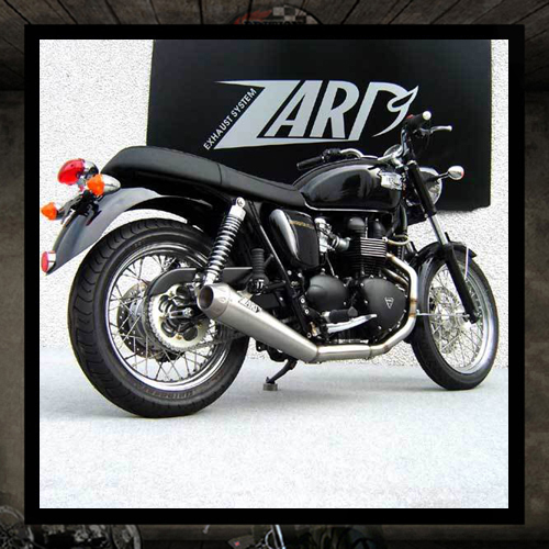 "Zard exhaust 2 into 1 ""Low Sport"" Bonneville"