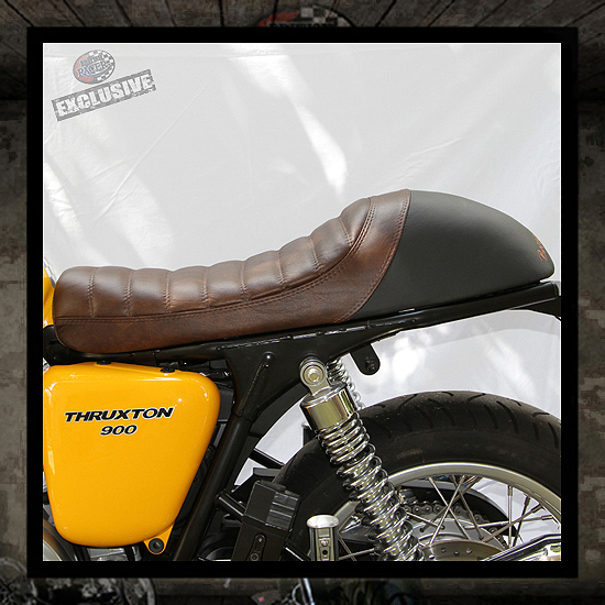British Racer� Cafe Lux seat