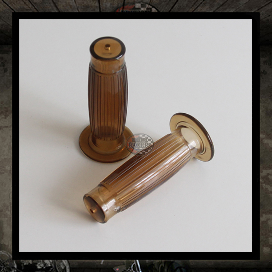 Brown Balloon handlebar grips 22 mm