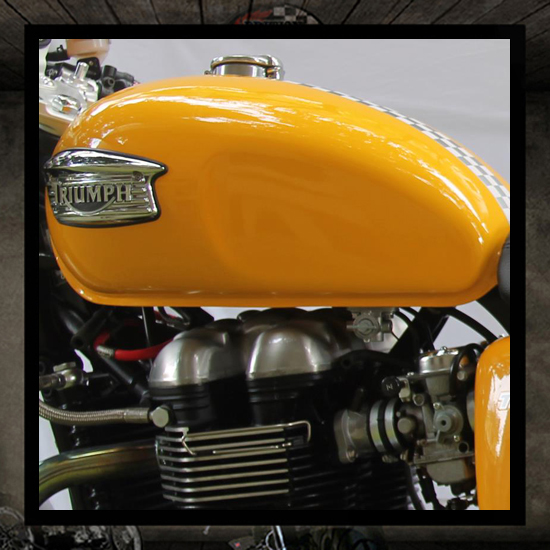 Triumph Paint Codes British Racer Custom And Performance Parts