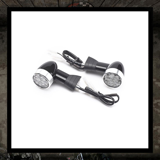 LED rear indicators short stem